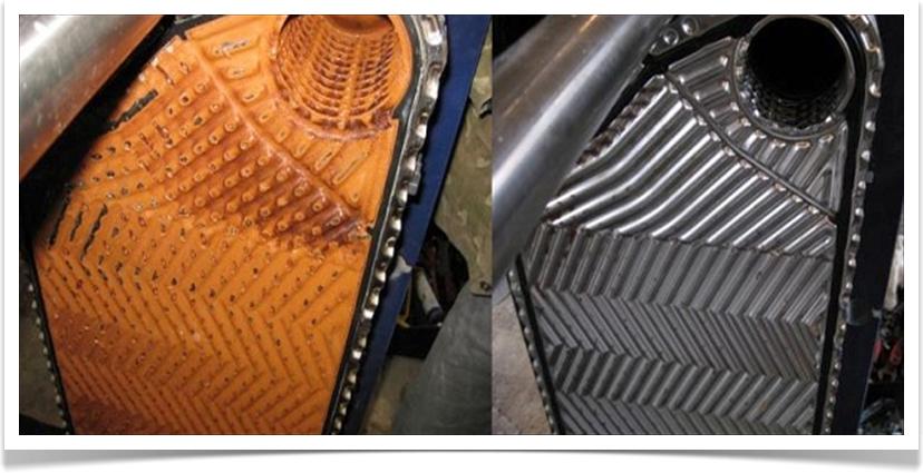 Промывка теплообменник теплообменник для подогрева воздуха